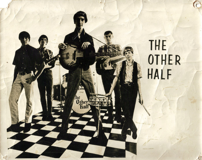 The Other Half promo photo, from left: Phil Sudderth, T A Tredway, David Heath, Carroll Grant and Alex Bauknight.