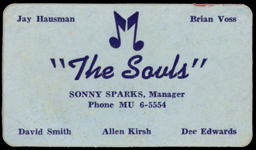 The souls aka christopher and the souls garage hangover souls business card colourmoves