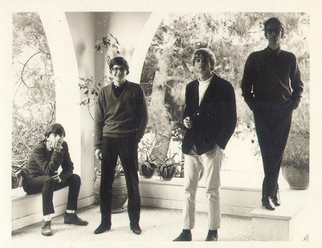 The Zoo, circa January 1966, Paul Velletri, George Alexander, Nick Jameson, Johnny Carr