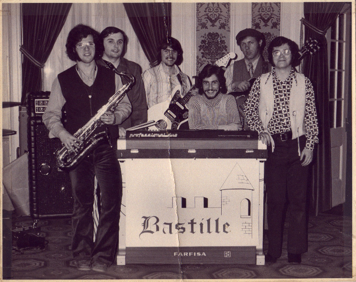 Bastille photo: Sam Gingerella, Pete Bulger, Rick Nielsen, Peter Place, Ray Renzi and Jack Henehan
