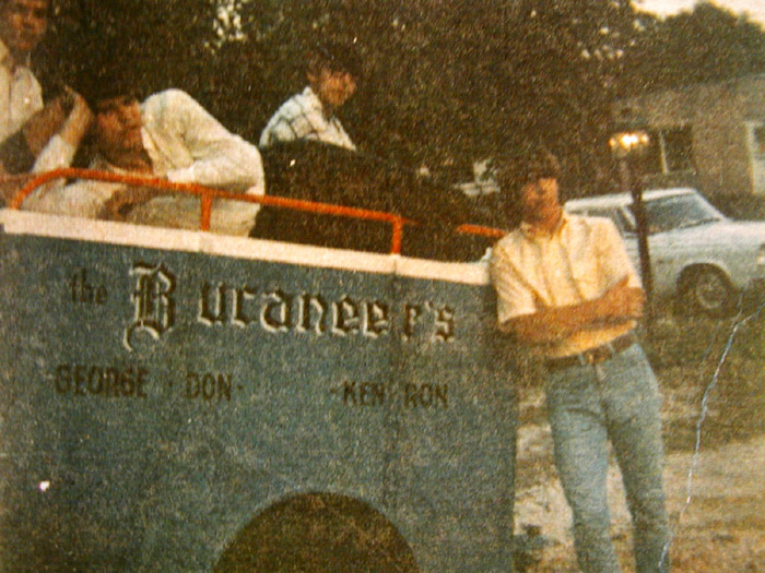 On tour, from left: Ron Krause, Don Bevers, George Falcone and Ken Loftis