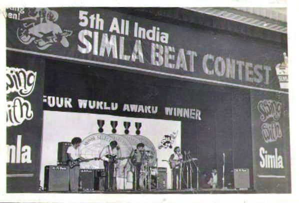 Frustrations Amalgamated at the 1972 Simla Beat Contest in Bombay