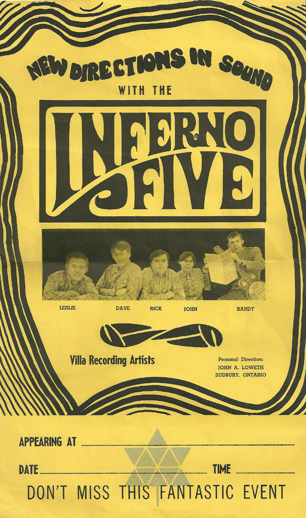 New Directions in Sound with the Inferno Five, Villa Recording Artists