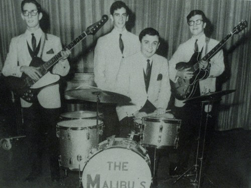The Malibus from left: Joe Brocolli, Peter Place, Pete Bulger and Jack Henehan