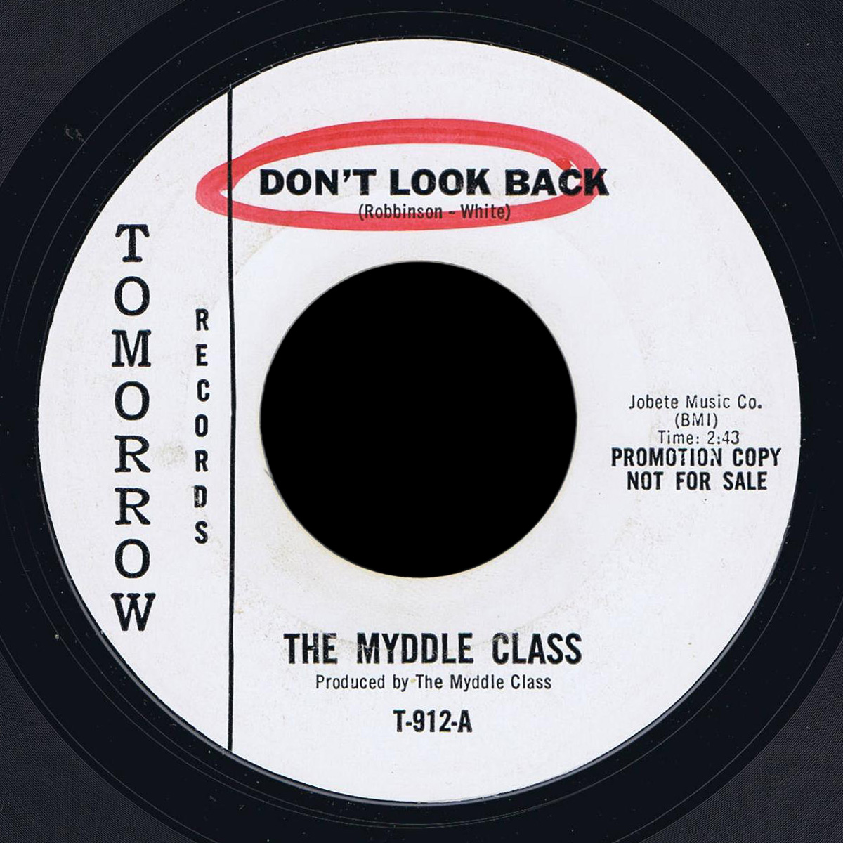 Myddle Class Tomorrow 45 Don't Look Back