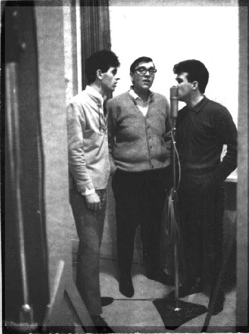 The Perennials, from left: Jack Donadio, Gene (surname?) and Jim Tucker