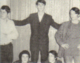 The Persons band, photo from Greek Garage Bands of the 60s