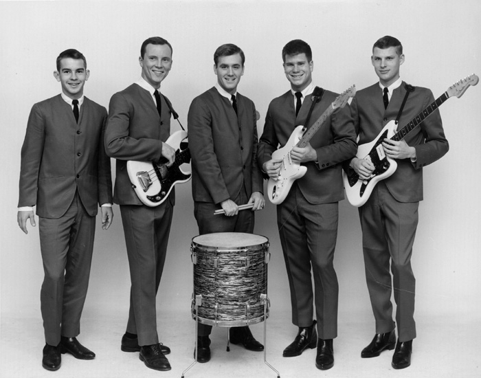 The Ramblers, left to right: Chip Sanders, Chris Convey, Johnny Robinson, Tommy Terrell, Van Veenschoten