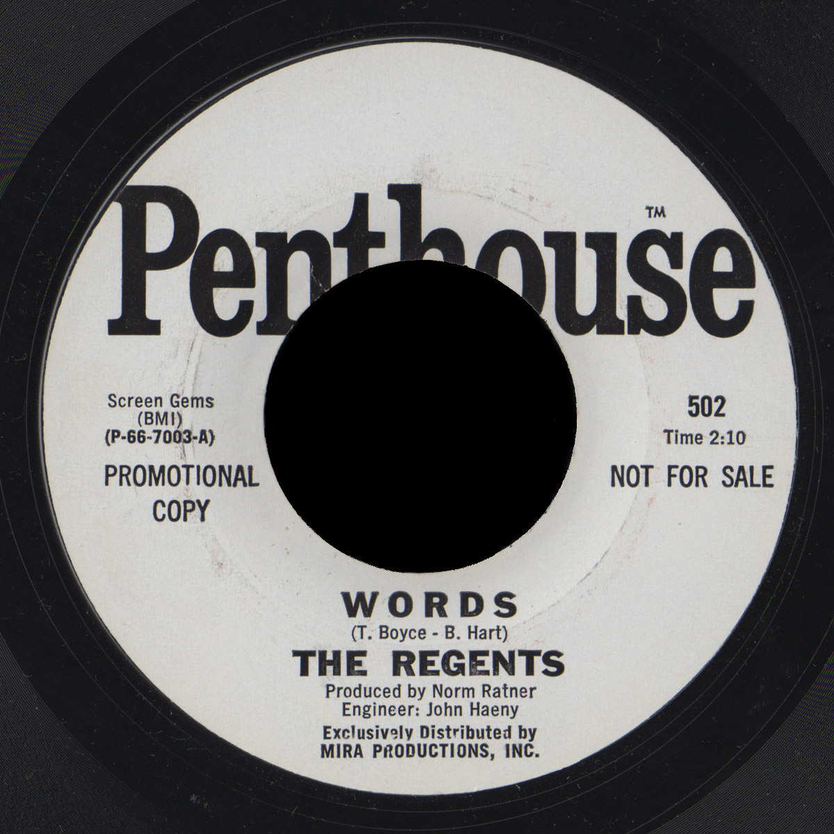 The Regents Penthouse 45 Words