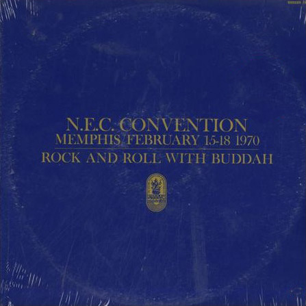 Buddah Records sampler LP Rock & Roll With Buddah for N.E.C. Convention Memphis February 1970