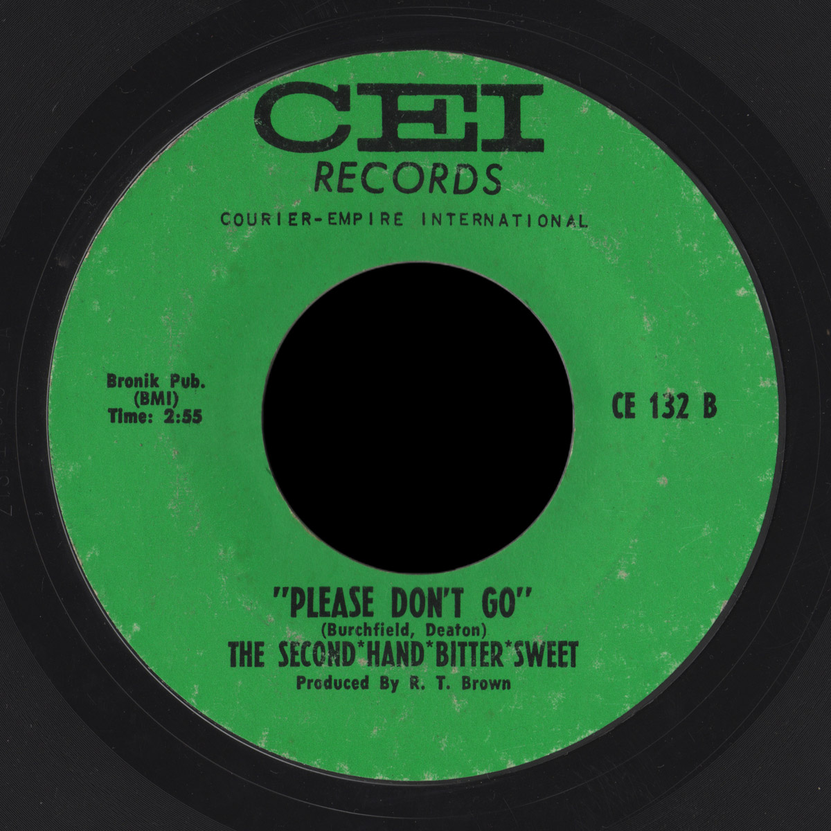 Second-Hand Bitter-Sweet CEI 45 Please Don't Go