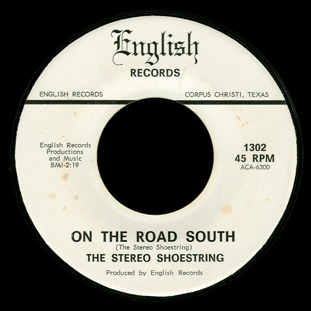 The Stereo Shoestring English 45 On the Road South