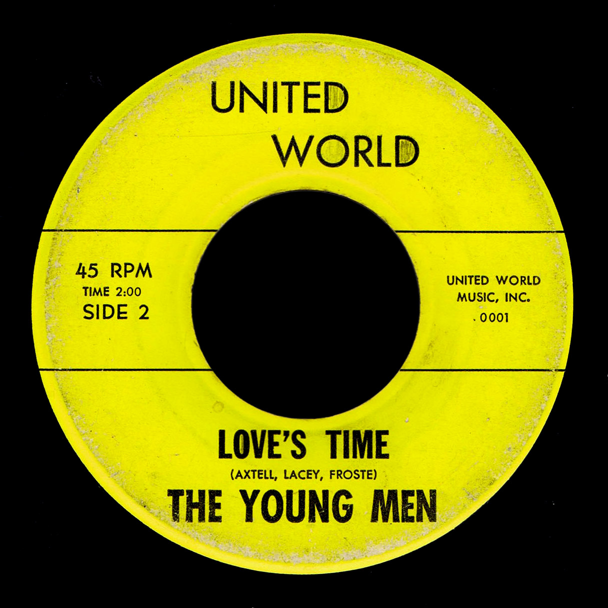 Young Men United World 45 Love's Time