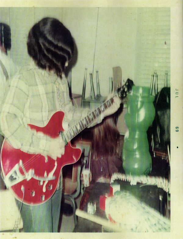 Ric with his 1967 Epiphone Riviera