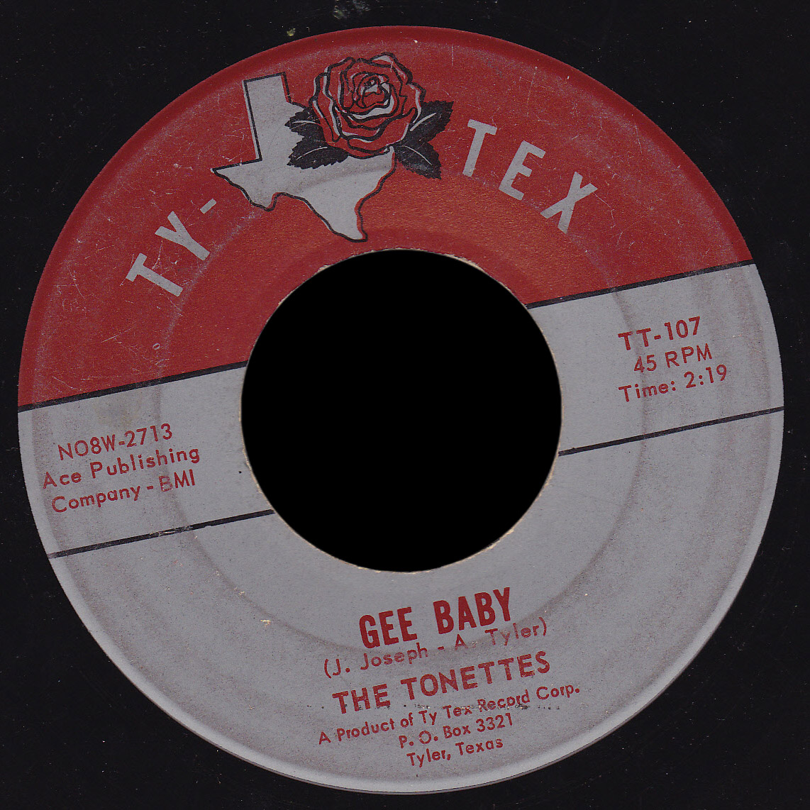 Tonettes Ty-Tex 45 Gee Baby