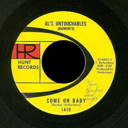 Al's Untouchables Hunt 45 Come On Baby