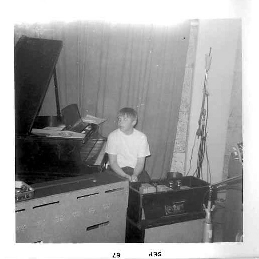Billy and the Kids in the studio, September 1967