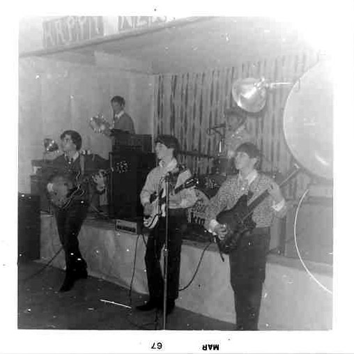 Billy & the Kids playing live, March 1967