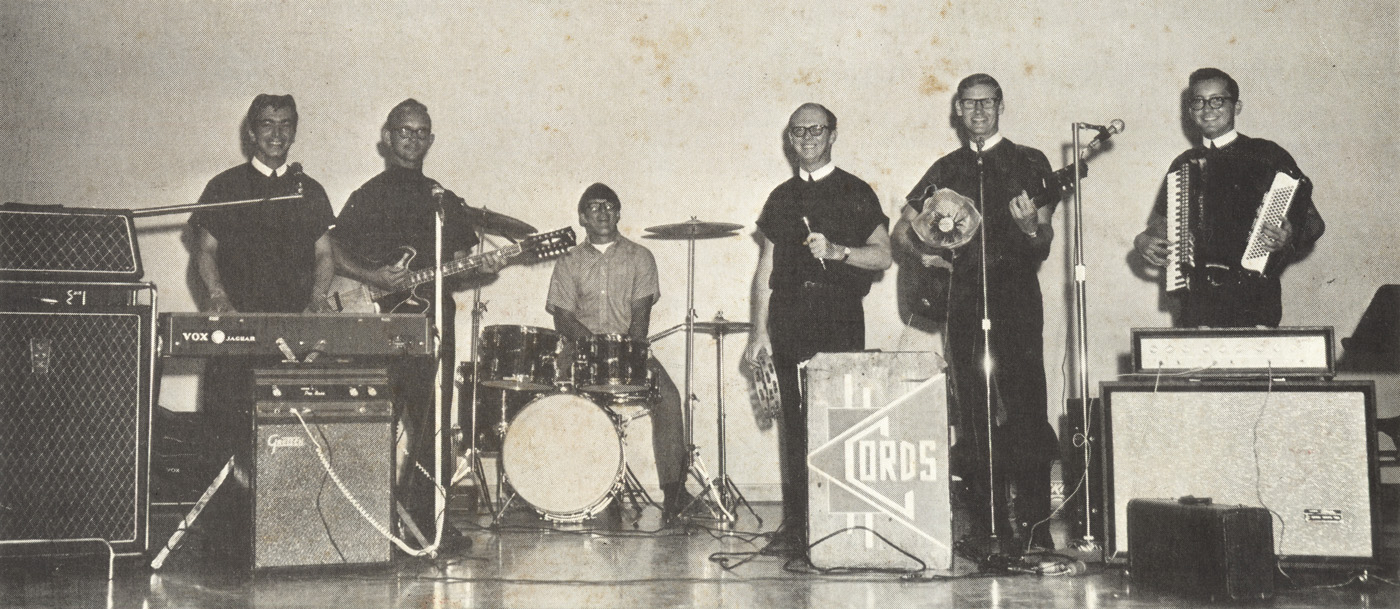 The Cords, photo from the back cover of their LP