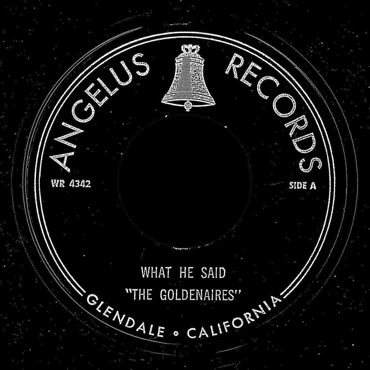 The Goldenaires' Angelus Records 45