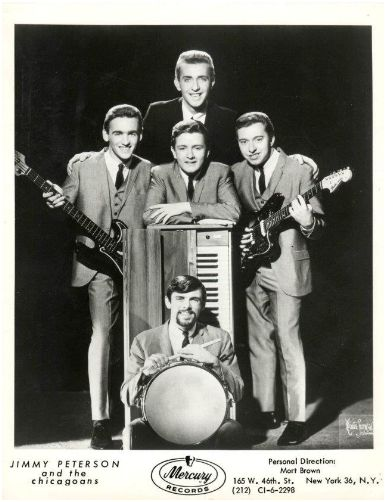 Jimmy Peterson & the Chicagoans Mercury promo photo
