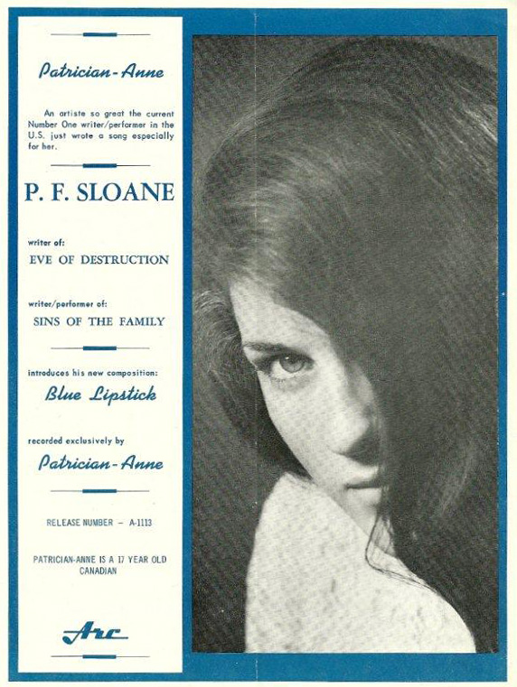 Patrician-Anne in RPM, October 11, 1965