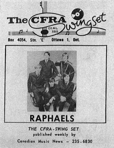 Raphaels featured in CFRA Swing Set
