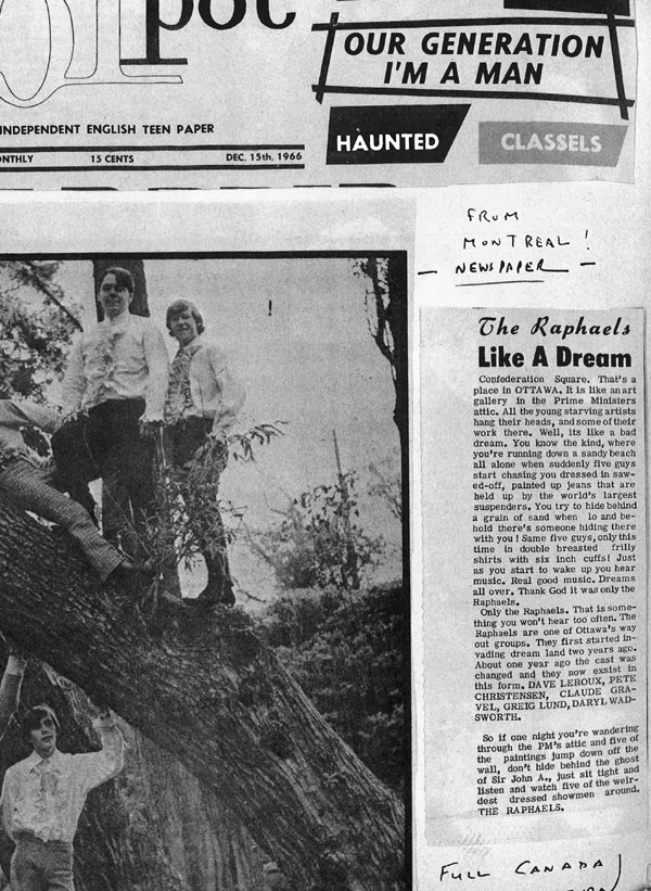 Raphaels profiled in POT, December 15, 1966