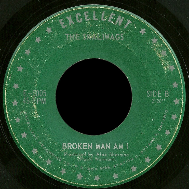 Skaliwags Excellent 45 Broken Man Am I