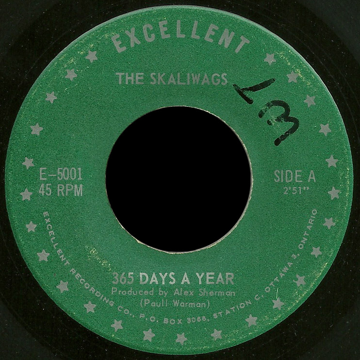 Skaliwags 45 365 Days a Year 2nd issue