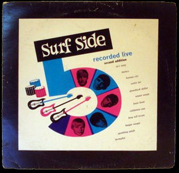 Surf Side 5 Recorded Live LP - second edition
