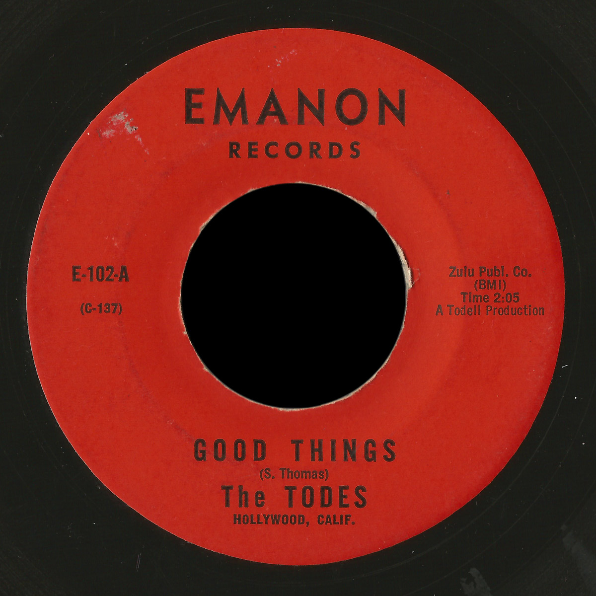 Todes Emanon 45 Good Things