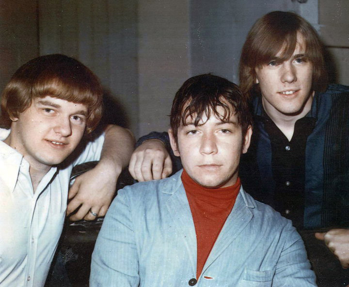 Tom Hankins, Eric Burdon and Dick Douglas, April 1966