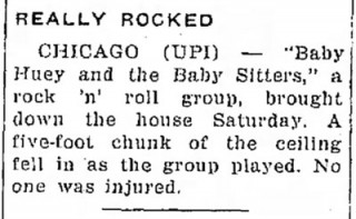 Baby Huey & the Baby Sitters, Traverse_City Record Eagle Aug. 8, 1967