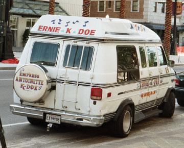 Ernie K-Doe's van