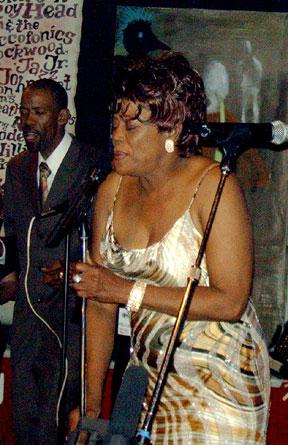 Betty Harris, Ponderosa Stomp at the Rock 'n Bowl, 2005