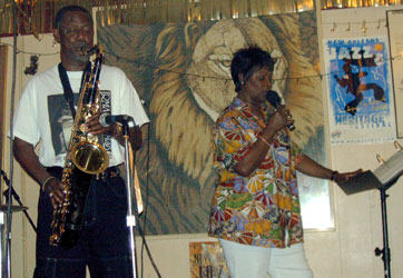 Irma Thomas at the Lion's Den