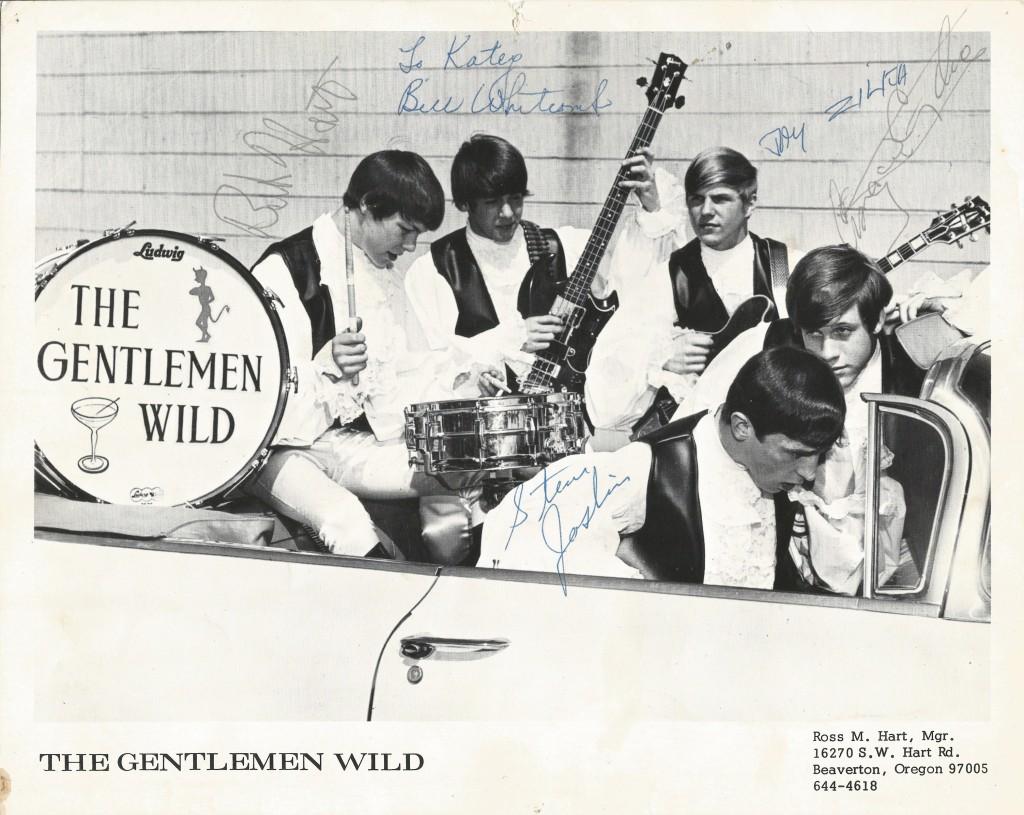 Gentlemen Wild Photo SignedA