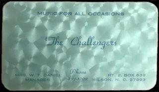 Challengers Wilson NC business card