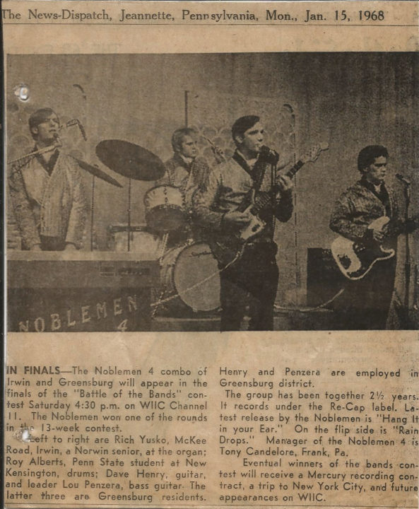 Noblemen 4 News-Dispatch January 15, 1968