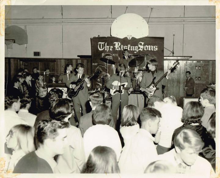 5 Rising Sons Photo Burlington Central H.S. circa 1965
