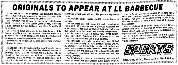 Originals Brazosport Facts, April 29, 1965