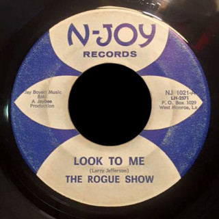 The Rogue Show N-Joy Records 45 Look To Me