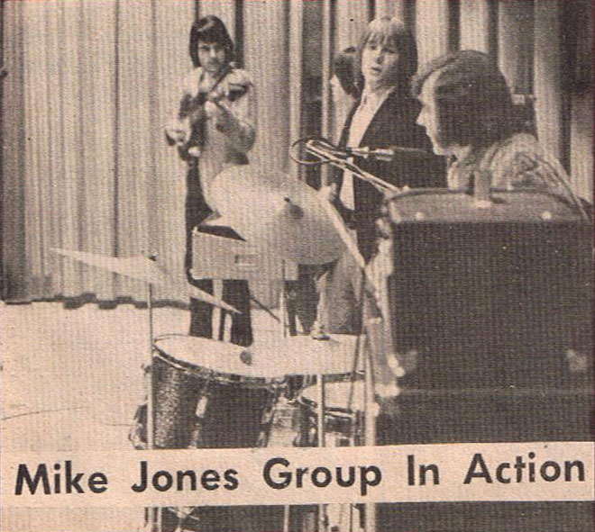 The Mike Jones Group in Rag Pot vol. 1 no. 1, (Montreal' s Latest Teenage Journal) Feb. 24, 1967