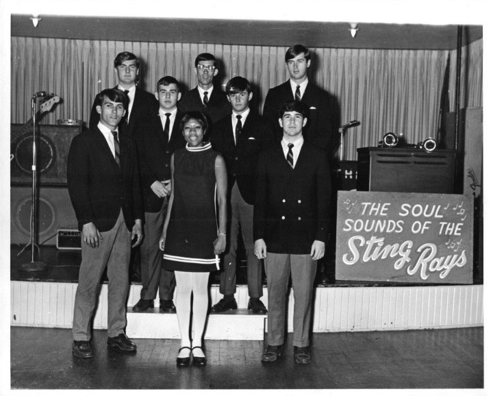 The Sting Rays with Elsie Strong