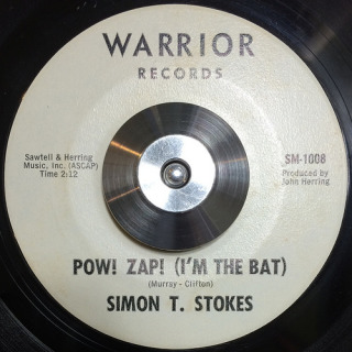 Simon T. Stokes Warrior 45 Pow! Zap! (I'm the Bat)