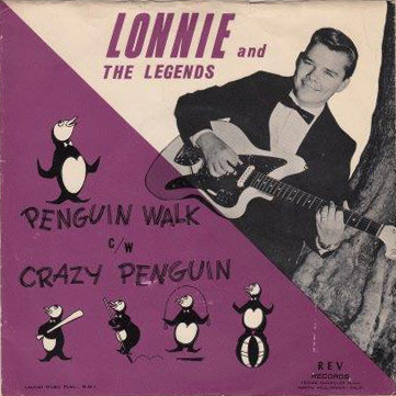 Lonnie and the Legends Rev sleeve Penguin Walk