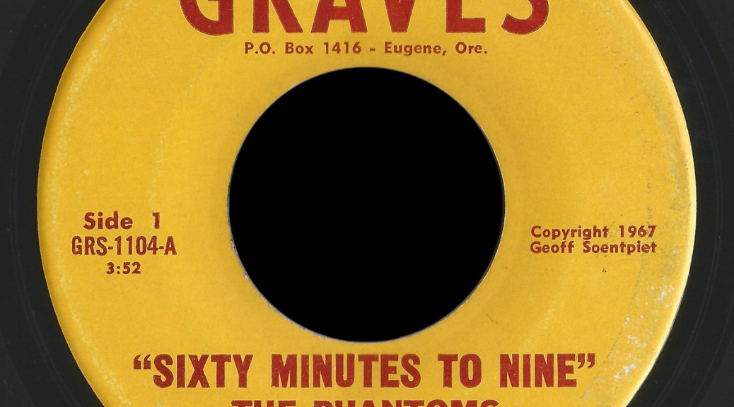 Phantoms Graves 45 Sixty Minutes to Nine