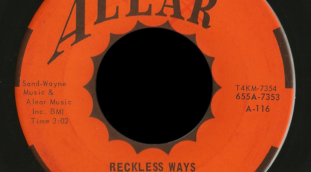 Smacks Alear 45 Reckless Ways