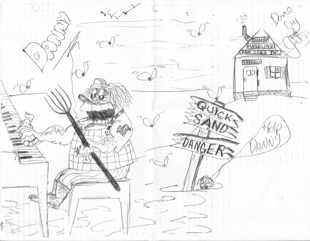 Danny Mansolino Cartoon